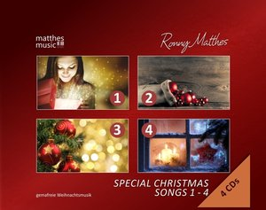Special Christmas Songs,Vol.1-4: Gemafreie Musik