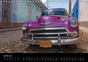 Cuba Highlights (UK-Version) (Wall Calendar 2015 DIN A4 Landscap