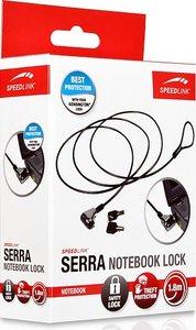 Speedlink SL-7485-SBK SERRA Notebook Lock, Diebstahlschutz