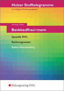 Stofftelegramme Bankkauffrau/-mann. Spezielle BWL, Rechnungswese
