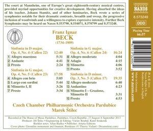 Sinfonien op.4 4-6,op.3 5