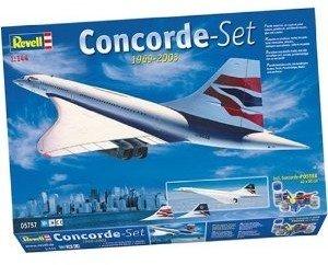 Revell 05757 - Geschenkset: Concorde, Maßstab 1:144