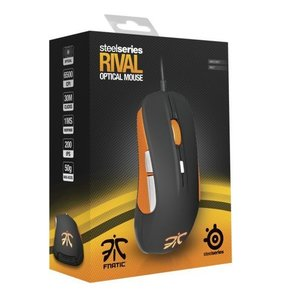 SteelSeries Rival Gaming Mouse Fnatic Team Edition, schwarz