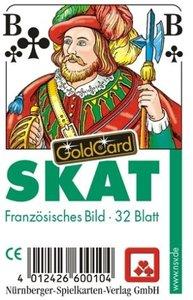 Nürnberger Spielkarten Verlag 7024 - Skat Classic, französisches