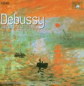 Debussy: Orchestral Works 4-CD