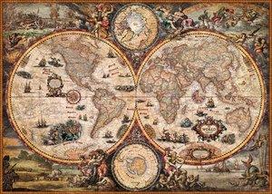 Vintage World. Puzzle 2000 Teile