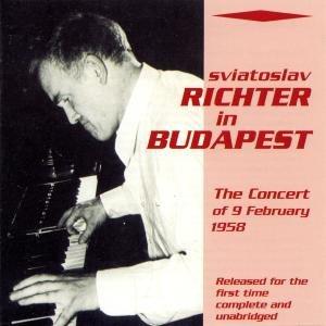 Sviatoslav Richter In Budapest (09.02.1958)
