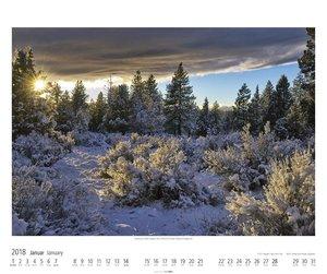 Amerikas wilde Landschaften - Kalender 2018