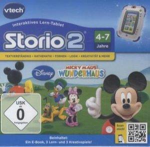VTech 80-230404 - Micky Maus Wunderhaus (Storio 2, Storio 3S)