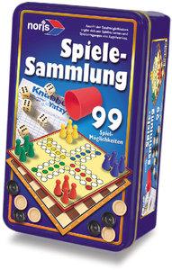 Spielesammlung 99 Spielmöglichkeiten in Metallbox