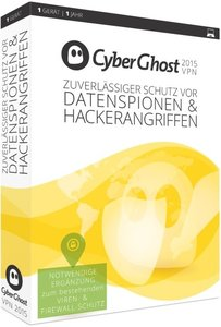 CyberGhost 5 Premium Plus VPN Edition 2015 (1PC/1Jahr)