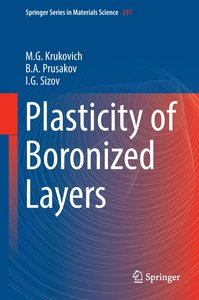 Plasticity of Boronized Layers