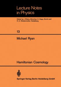 Hamiltonian Cosmology