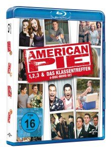 American Pie: Kinofilm-Box 1,2,3 & 8-l