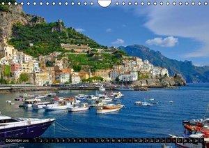 Amalfi Coast and Campania (Wall Calendar 2016 DIN A4 Landscape)