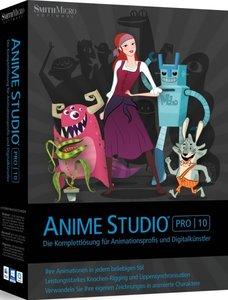 Anime Studio Pro 10 - Animationswerkzeug für Profis und Digitalk