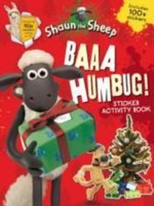 BAAA HUMBUG A SHAUN THE SHEEP STICKER AC
