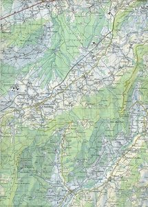 Swisstopo 1 : 50 000 Chablais