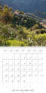 Canary Islands Tenerife (Wall Calendar 2016 300 × 300 mm Square)