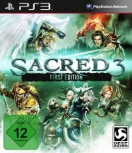 Sacred 3 First Edition. PlayStation PS3