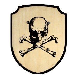 Bino 80233 - Schild Totenkopf