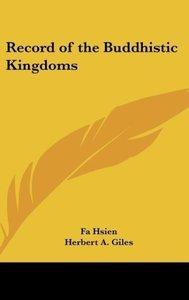 Record of the Buddhistic Kingdoms