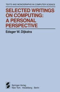 Selected Writings on Computing: A personal Perspective