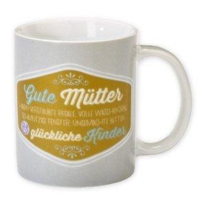 "HAPPYlife Tasse ""Gute Mütter..."""