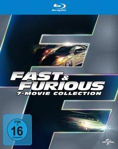 Fast & Furious 1-7 Box