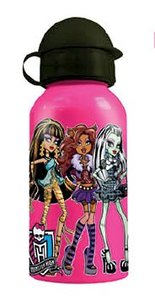 p:os 66356 - Monster High: Alu-Trinkflasche