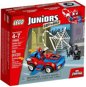 LEGO® Juniors 10665 - Spider-Man?: Spider-Car Verfolgung