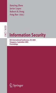 Information Security ISC 2005