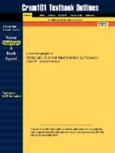 Outlines & Highlights for Basic and Clinical Biostatistics by Da