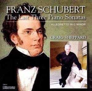 Die letzten drei Klaviersonaten
