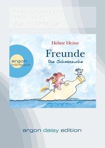 Freunde - Die Schatzsuche (DAISY Edition)
