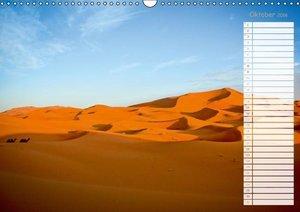 Nordafrika: Die Wüste lebt (Wandkalender 2016 DIN A3 quer)