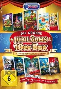 Die große Jubiläums-10er Box (10 Top-Spiele als Vollversion)
