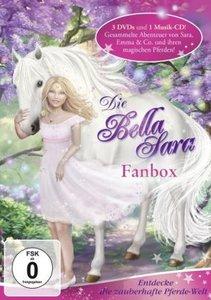 Bella Sara:Die Fan-Box (mit 3DVDs und 1 CD)