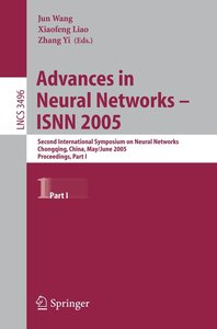 Advances in Neural Networks - ISNN 2005 / 1