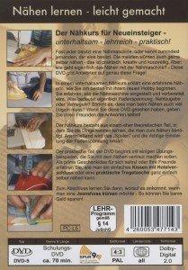 Nähen lernen - leicht gemacht - Nähen mit der Nähmaschine