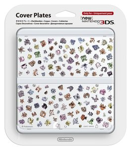 New Nintendo 3DS Zierblende 031 (Pokemon Retro)