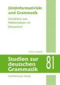 (Un)informativität und Grammatik