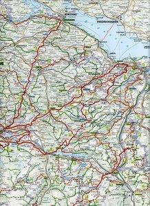 KuF Schweiz Wanderkarte 1 : 301.000