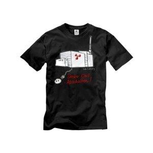 Atomshirt-Stecker Raus! T-Shirt XL