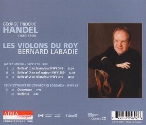 Handel: Water Music/Solomon excerpts