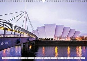 Schottlands Perle - Glasgow (Wandkalender 2016 DIN A3 quer)