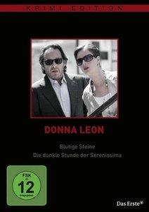Donna Leon: Blutige Steine/Die dunkle Stunde der Serenissima (K