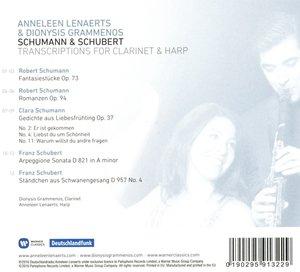Transkritionen Für Klarinette & Harfe