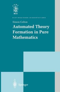 Automated Theory Formation in Pure Mathematics