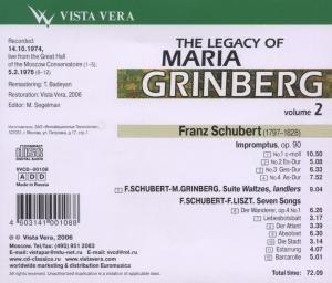 The Legacy Of M.Grinberg 2